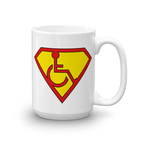 15oz Adaptive Superman Symbol Mug