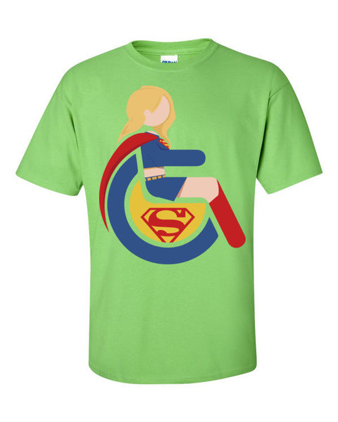 Men's Adaptive Supergirl T-Shirt