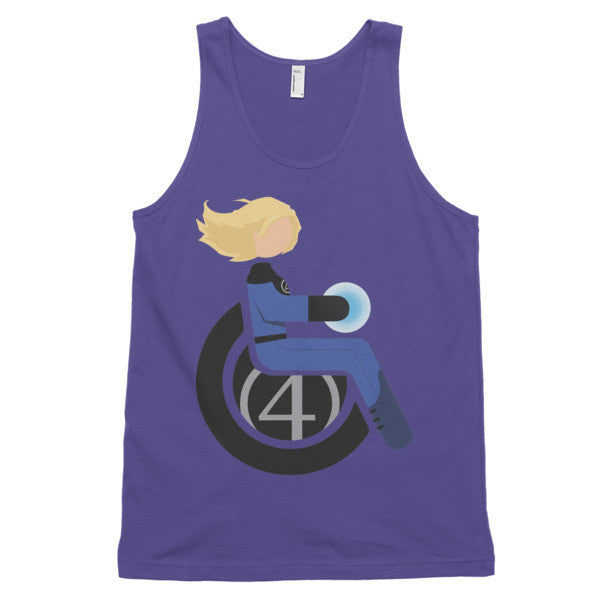 Adaptive Invisible Woman Classic Tank Top