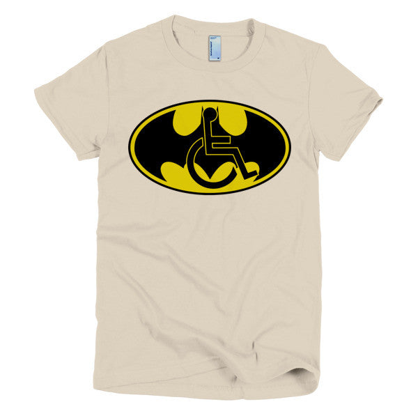 Women's Adaptive Batman Symbol T-Shirt (S-L)