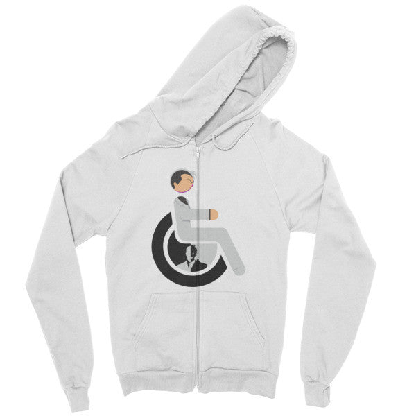 Men's Adaptive Two-Face Zip Hoodie