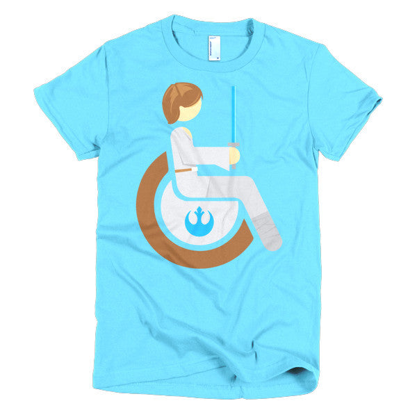 Women's Adaptive Luke Skywalker T-Shirt (XL-2XL)
