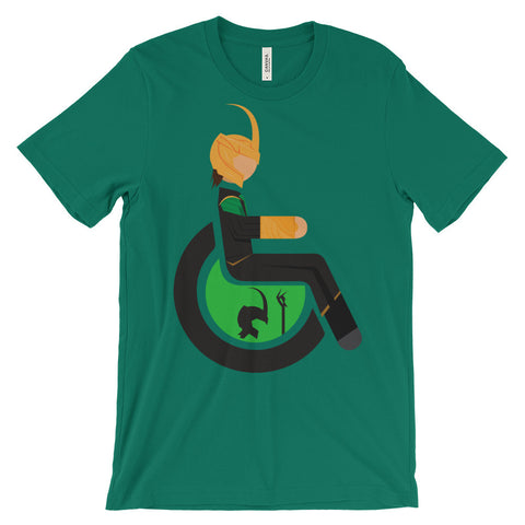 Adaptive Loki Short Sleeve T-Shirt (3XL-4XL)