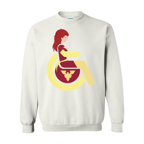 Men's Adaptive Dark Phoenix Crewneck Sweatshirt