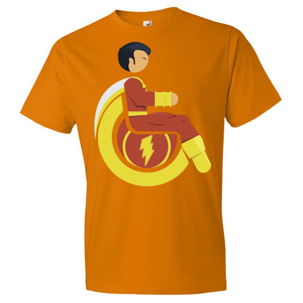 Men's Adaptive Mr. Marvel (Shazam) Lightweight T-Shirt