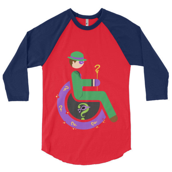 Men's Adaptive Riddler 3/4 Sleeve Raglan Shirt