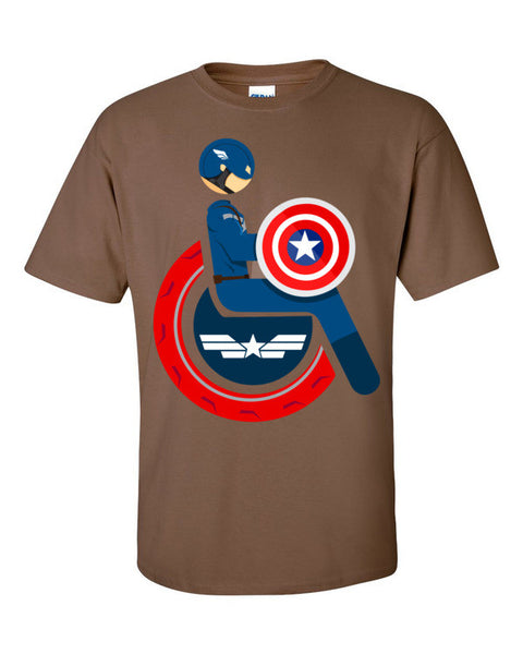 Men's Adaptive Captain America T-Shirt