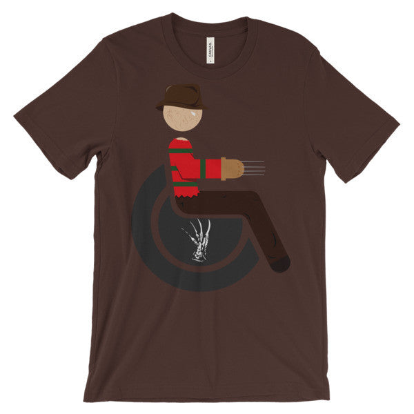Adaptive Freddy Krueger Short Sleeve T-Shirt