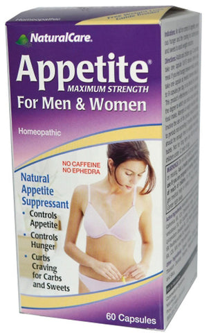 Natural Care Appetite Suppressant For Men Women