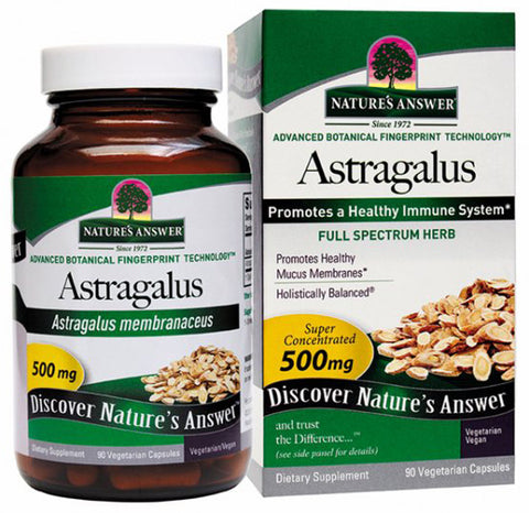 Natures Answer Astragalus Root Extract