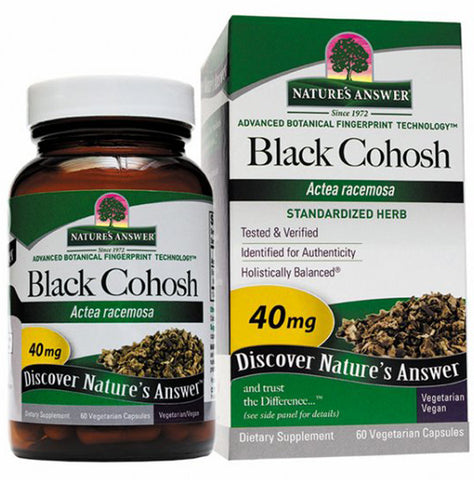 Natures Answer Black Cohosh Root Standardized