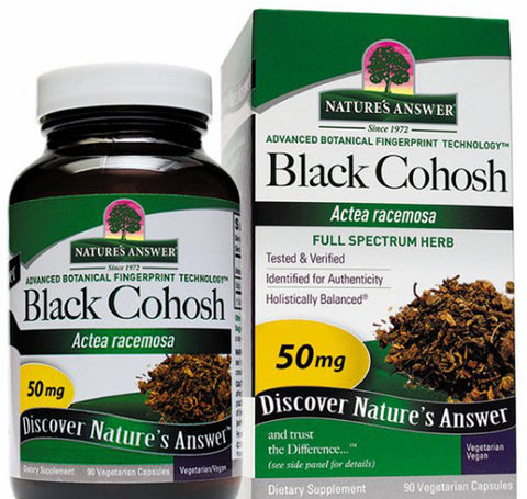 Natures Answer Black Cohosh Root