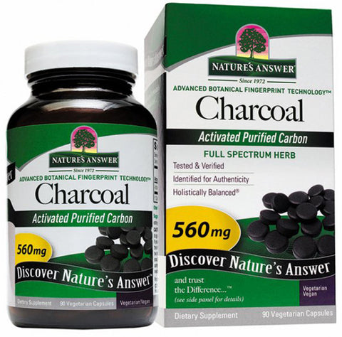 Natures Answer Charcoal Activated
