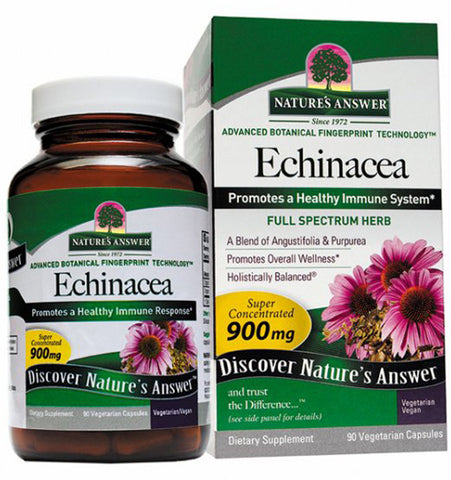 Natures Answer Echinacea Root 900 mg