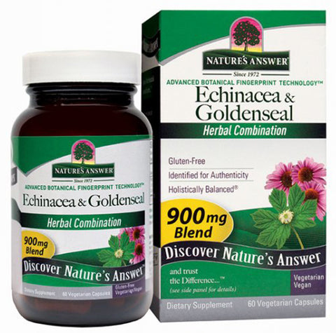 Natures Answer Echinacea Goldenseal Root