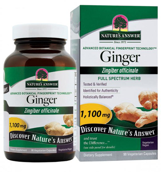 Natures Answer Ginger Rhizome