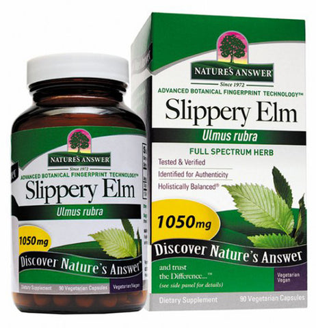 Natures Answer Slippery Elm Bark 1050 mg
