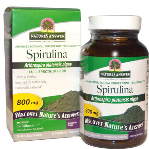 Natures Answer Spirulina