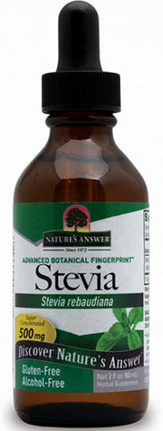 Natures Answer Stevia Leaf Alcohol Free
