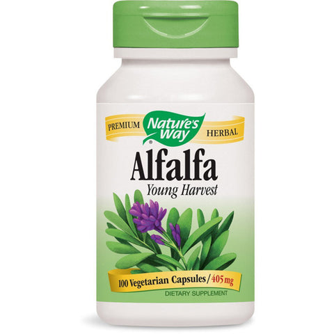NATURES WAY - Alfalfa Young Harvest 405 mg
