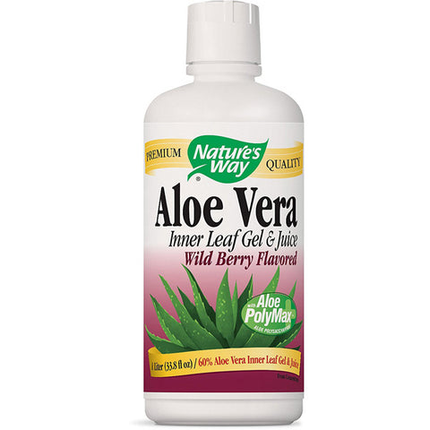 NATURES WAY - Aloe Vera Gel  Juice (Berry)