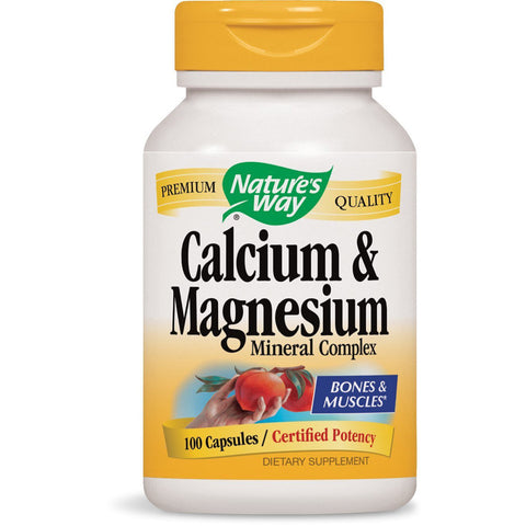 NATURES WAY - Calcium and Magnesium Mineral Complex