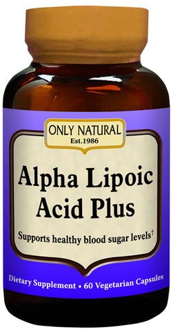 Only Natural Alpha Lipoic Acid 200 mg Plus