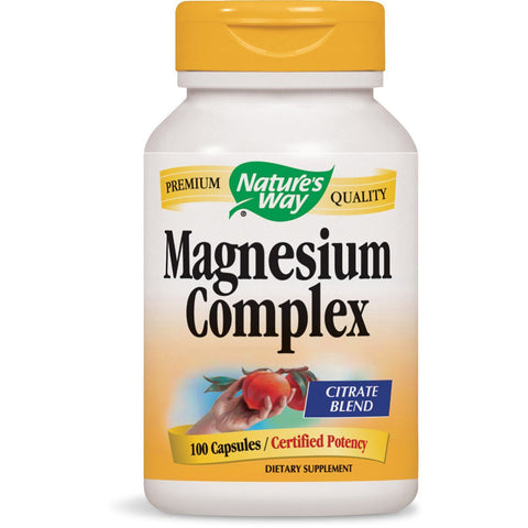 NATURES WAY - Magnesium Complex Citrate Blend