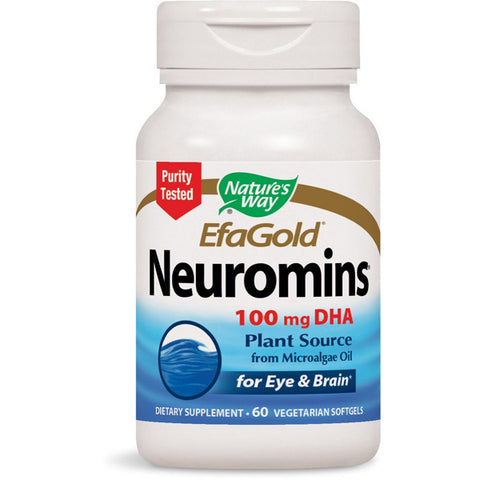NATURES WAY - EFAGold Neuromins 100 mg DHA
