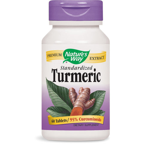 NATURES WAY - Turmeric Standardized Extract 500 mg