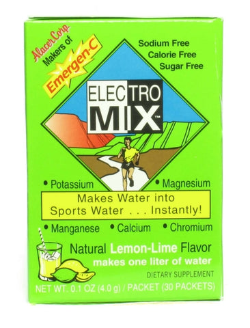 Alacer Corp - ElectroMix Lemon Lime - 30 x 0.14 oz. Packets