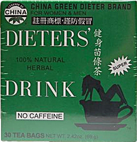 UNCLE LEE'S TEA - China Green Brand - Dieter's Drink