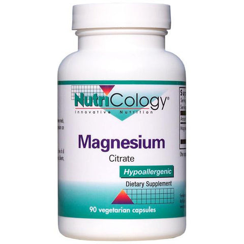 Nutricology Magnesium Citrate