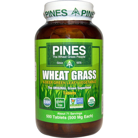 PINES - Wheat Grass 500 mg