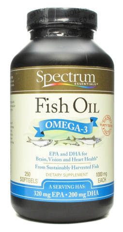Spectrum Organic Fish Oil 1000 mg