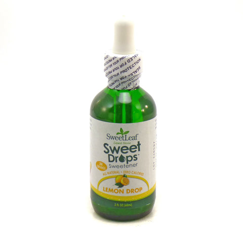 SWEET LEAF - Liquid Stevia Flavor Lemon Drop