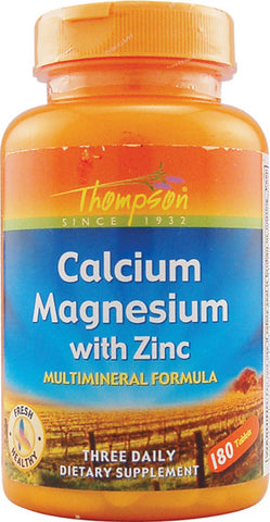 Thompson Nutritional Calcium Magnesium with Zinc