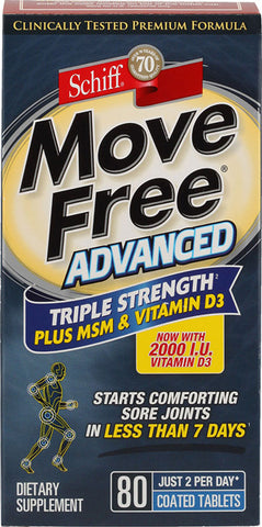 Schiff Move Free Advanced plus MSM Plus Vitamin D