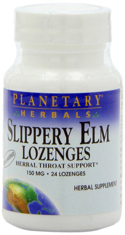 Planetary Herbals Slippery Elm Lozenges Unflavored