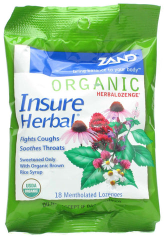 Zand Organic Insure Herbal Lozenge
