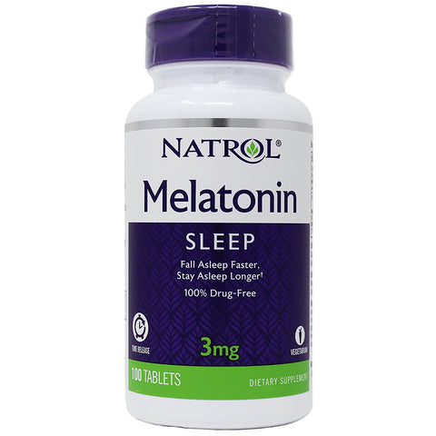 Natrol Melatonin 3 mg Time Release