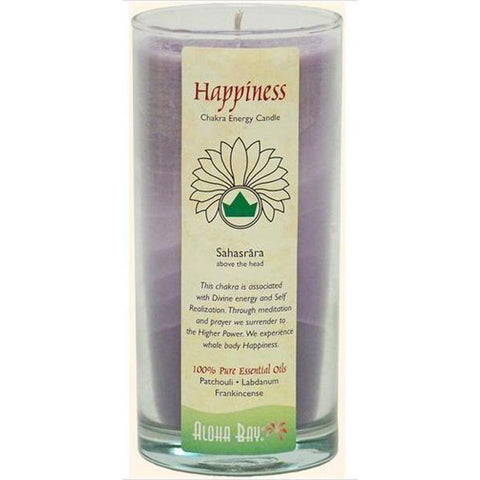 Aloha Bay Candles Chakra Energy Jars Happiness