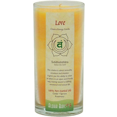 ALOHA BAY - Candle Chakra Energy Jars Love