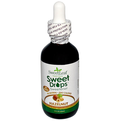 SWEET LEAF - Sweet Drops Liquid Stevia Hazelnut
