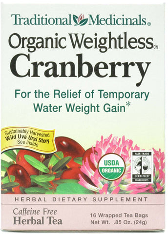 Traditional Medicinal Weightless Cranberry
