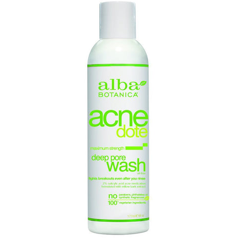 Alba Botanica - Natural ACNEdote Deep Pore Wash - 6 fl. oz. (177 ml)