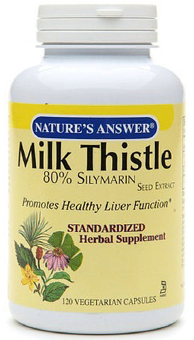 Natures Answer Milk Thistle Seed Standardized