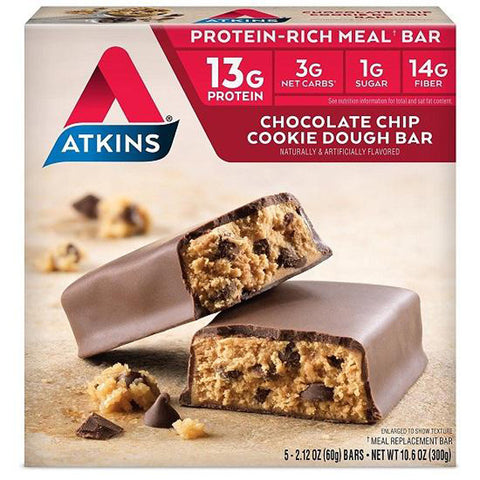 ATKINS - Advantage Chocolate Chip Cookie Dough Bars