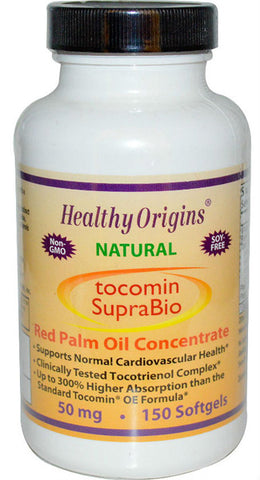 Healthy Origins Tocomin SupraBio 50 mg