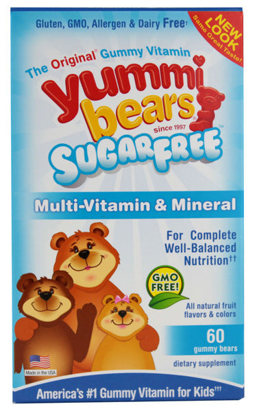 HERO NUTRITIONALS - Yummy Bears Sugar Free Multi-Vitamin & Mineral